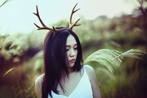 steampunk halloween antlers brown deer horns hair band headband goth cosplay accessories headdress in hair accessories from womens clothing accessories