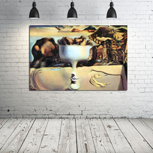 Salvador Dali Most Famous Paintings Canvas Poster And Print Painting Oil Decorative Pictures For Bedroom Home Decoration