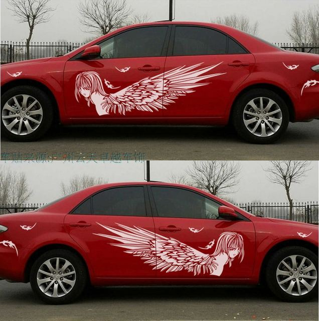XYIVYG New For Most Car Truck Girl Angel Beauty Graphics Vinyl - Graphics for the side of a car