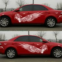 New For Most Car Truck Girl Angel Beauty Graphics Vinyl Side Decals Whole Body Hood Sticker