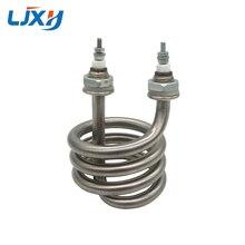 LJXH Destilador de agua eléctrico, 220V/380V, elemento calefactor de inmersión de acero inoxidable en espiral, 2.5KW/3KW/4,5kw