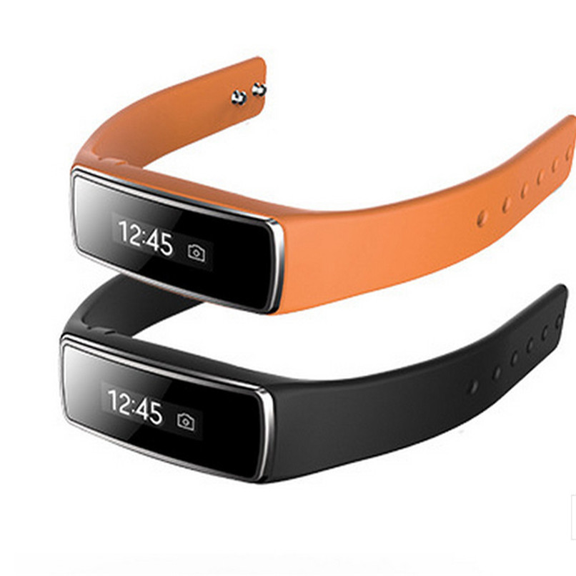 Waterproof Bluetooth 4 0 OLED Smart Bracelet Watch Wrist Band For iPhone IOS Android Free Shipping