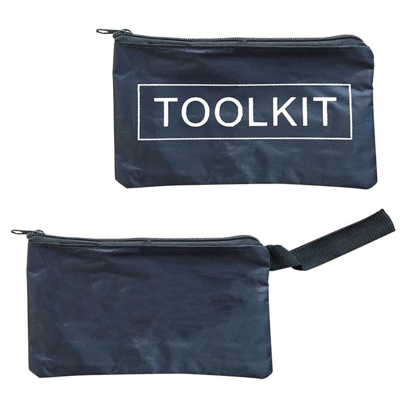 1 Stück Einfache Stil Leinwand Werkzeuge Set Tasche Zipper Lagerung Instrument Fall Beutel Wasserdichte Kettensägen Rasenmäher Werkzeug Fall Tragbare Noch Nicht VulgäR