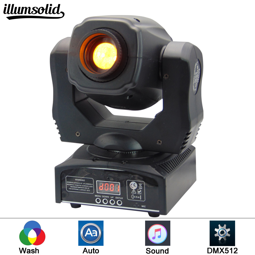 (1 pieces/lot) Eyourlife LED Inno Pocket Spot Mini Moving Head Light 60W DMX dj 7 gobos effect stage lights багажники inno