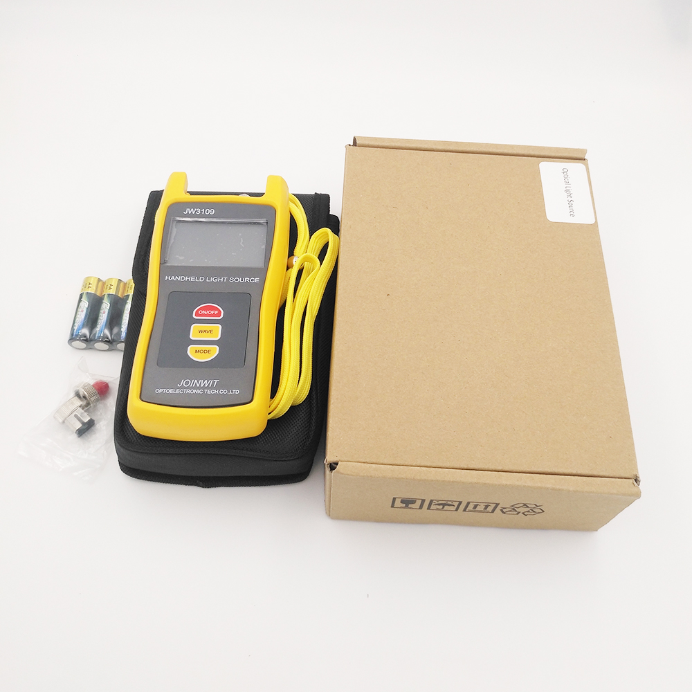 Free Delivery by Fedex Handheld Fiber Optical Light Source Joinwit JW3109 Three Wavelength 1310/1550nm SinglemodeFree Delivery by Fedex Handheld Fiber Optical Light Source Joinwit JW3109 Three Wavelength 1310/1550nm Singlemode