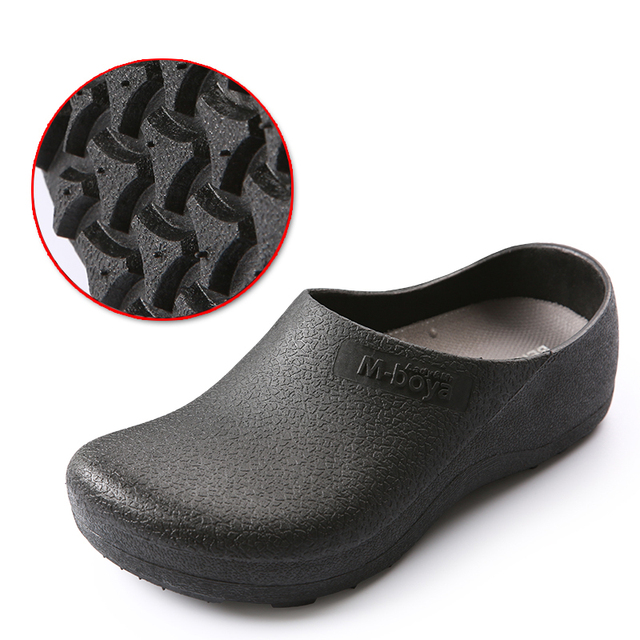 2018 new Super chef shoes for kitchen safety shoes