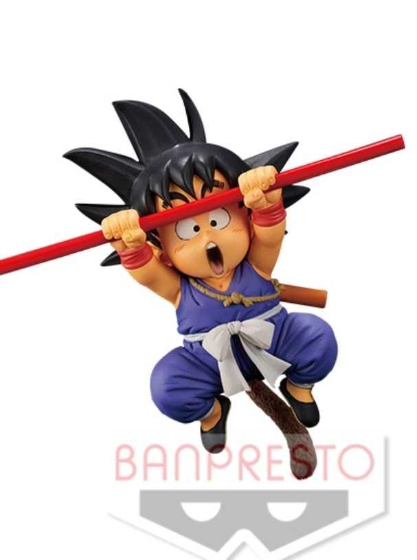 Original dragon ball z dbz fes9 luta deus vermelho goku criança goku figura brinquedos figurais bonecas brinquedos