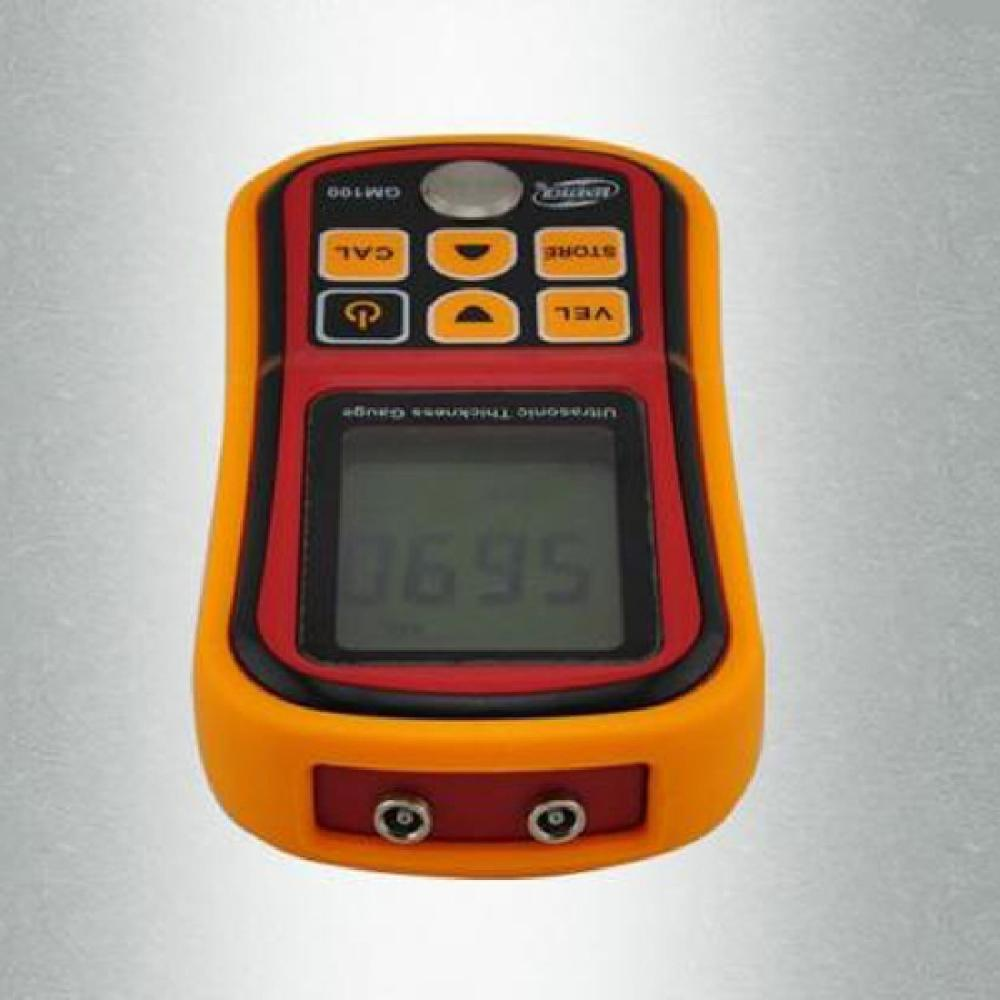 ФОТО  Limited Coating Thickness Gauge Gm100 Ultrasonic Wall Thickness Gauge Meter Tester Steel Pvc Digital Testing