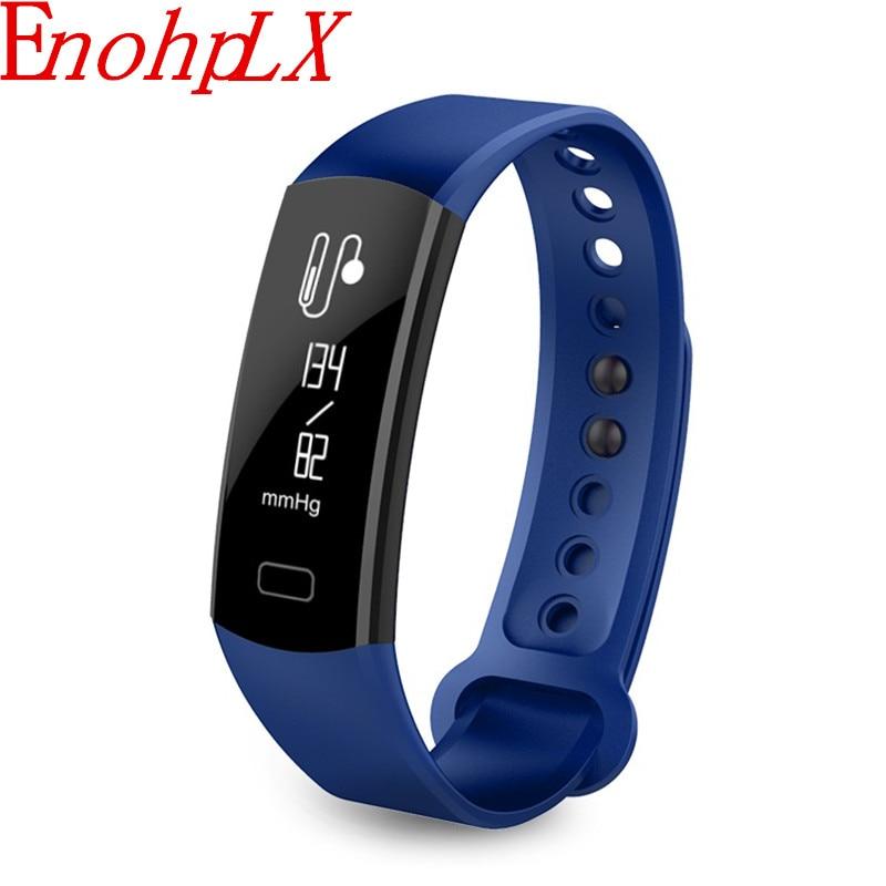 Enohplx 0.91 OLED умный браслет Спорт запястье часы интеллектуальные кровяное давление Пульс интеллектуальная мода браслет