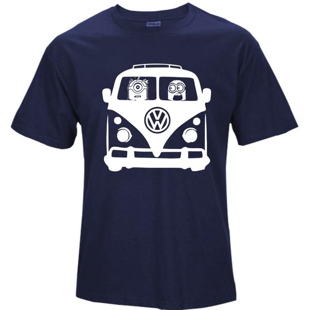 Cotton Volkswagen Despicable Me Minions T-shirts
