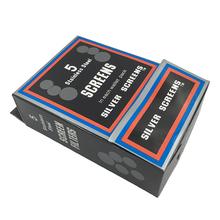 500 sztuk (100 pack) do rur ze stali nierdzewnej ekrany ekrany papierosy dymu tytoniowego filtry metalowe dym rury Hookah dym tanie tanio sufeng Bezpłatne typu wanpian