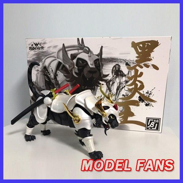MODEL FANS INSTOCK beta model white tiger/black tiger for Ronin Warriors Yoroiden Samurai Trooper Metal Armor Plus action figure