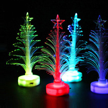 Table Decor Accessories Supplies Christmas Tree Stickers Decoration Living Room Light up Toys kids Led Flash
