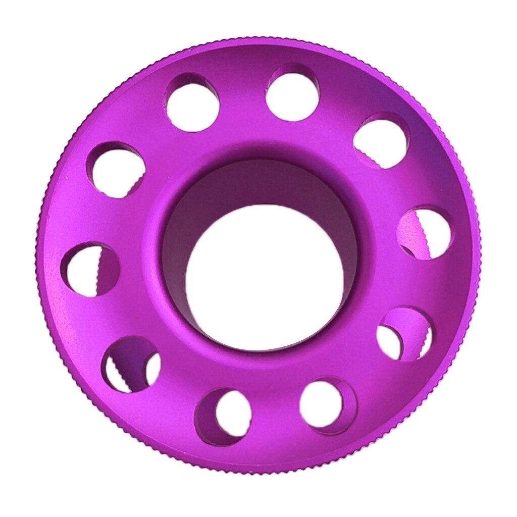 Ultralight Aluminum Scuba Diving Finger Spool Dive Guide Line Reel Purple