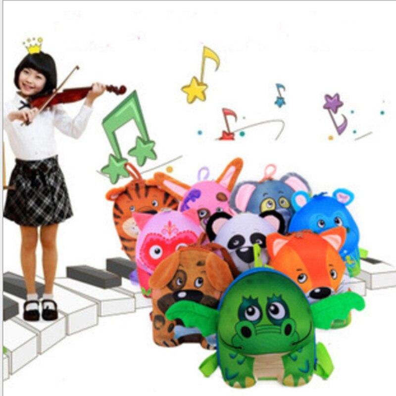 2015 3D Kids Fanny Backpack Back to School Korean Style Panda Child Pack Owl Backpack School Bags Baby Mochila Escolar Infantil маленькая сумочка korean style 2015 crown 0155