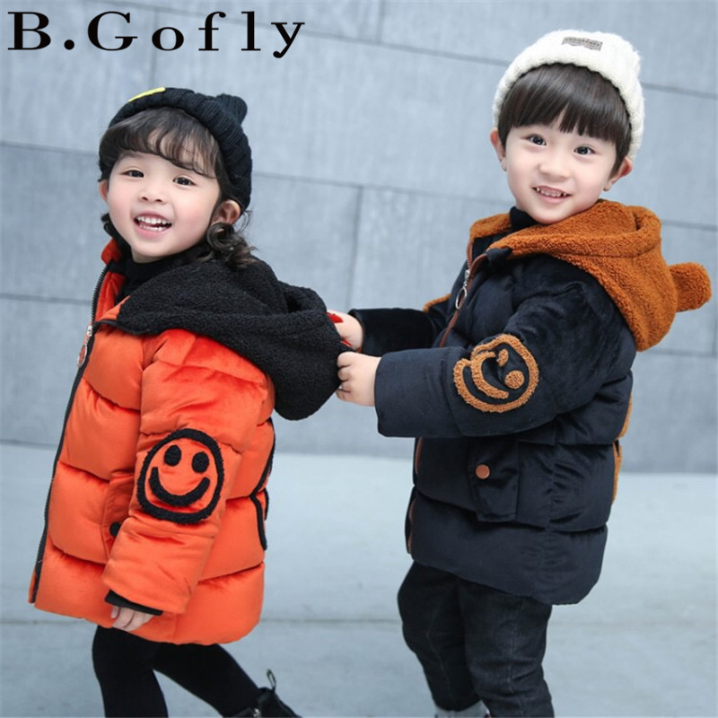 2018 Fashion Children Boy Toddler Clothing Girls Warm Hooded Coats Boy Girl Outwear Suit Snow Wear Boy Down Kids Winter Jackets 2018 winter children clothing set russia baby girl snow wear boy s outdoor snowsuit kids down coats jackets trousers 30degree