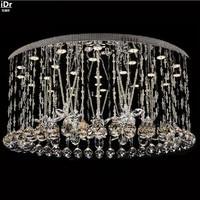 Производства и продаж обычные минималистский светодиод Crystal Light низкого напряжения обвел огни зала Потолочные светильники rmy-0167