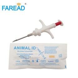 Бесплатная доставка 2,12*12 мм FDX-B RFID имплантат микрочип для собак шприц игла для домашних животных верблюжья лошадь ферма животноводство отсл...