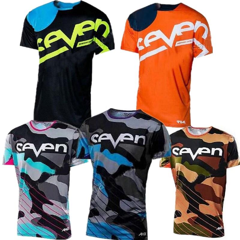 Jersey Shirt Downhill-Camiseta Mountain-Bike Motorcycle Short-Sleeved Seven Mx Mtb Off-Road