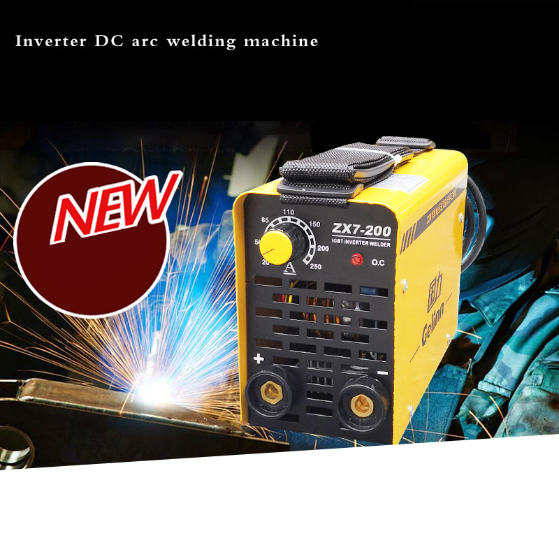 ZX7-250 ZX7-200 250A Welding Mahine Arc Electric Welding Inverter 220V MMA Welder for Welding Working and Electric Working mos tube 220v welding inverter driven plate you have triggered arc zx7 tig200