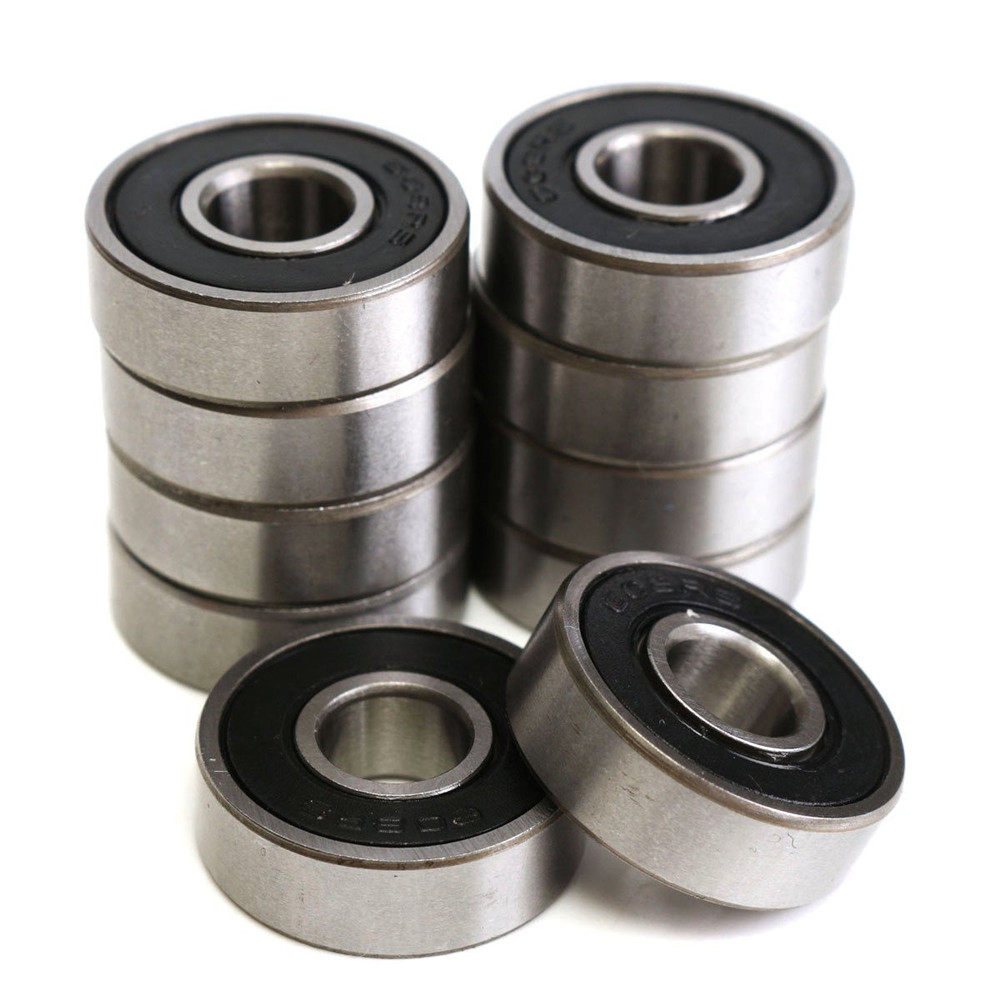 1pcs 608 2RS Ball Bearing High Performance 8x22x7mm Deep Groove Steel Sealed Ball Bearings 608RS Z3V3 608-2RS 608rs Bearing