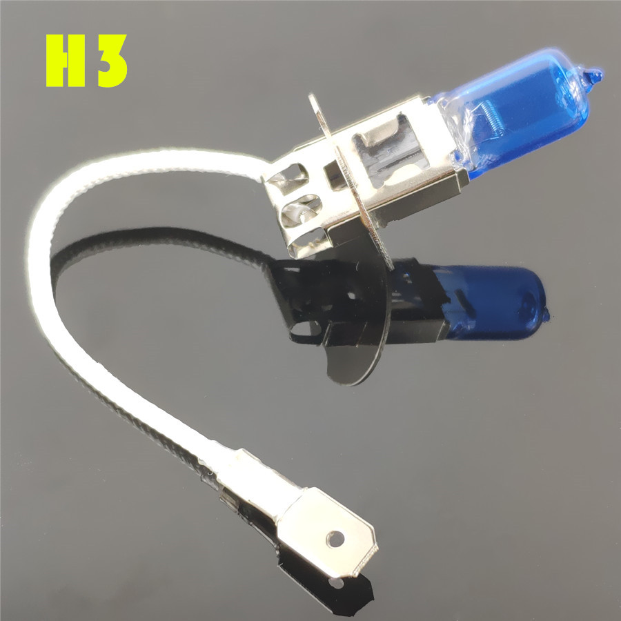 Best Price #11d0c3 Super White Halogen Lamp H1 H3 H4 H7 H8