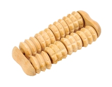 Hot Sale Wooden Massage Hand Held Body Roller Massager Solid Wood Full-body Brown Body Relaxation Drop Shipping J7