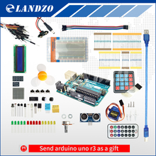 Arduino Starter Kit for arduino Uno R3 – 9G Server /arduino sensor /1602 LCD / jumper Wire/ UNO R3/Resistor