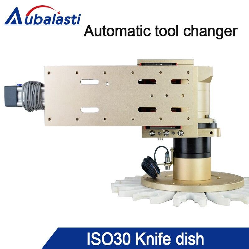 Máquina de gravura Ferramenta Revista ISO30 BT30 Rotativo Cortador De Troca Automática de Ferramentas CNC Router Spindle Ferramenta Titular 8-20 Estações