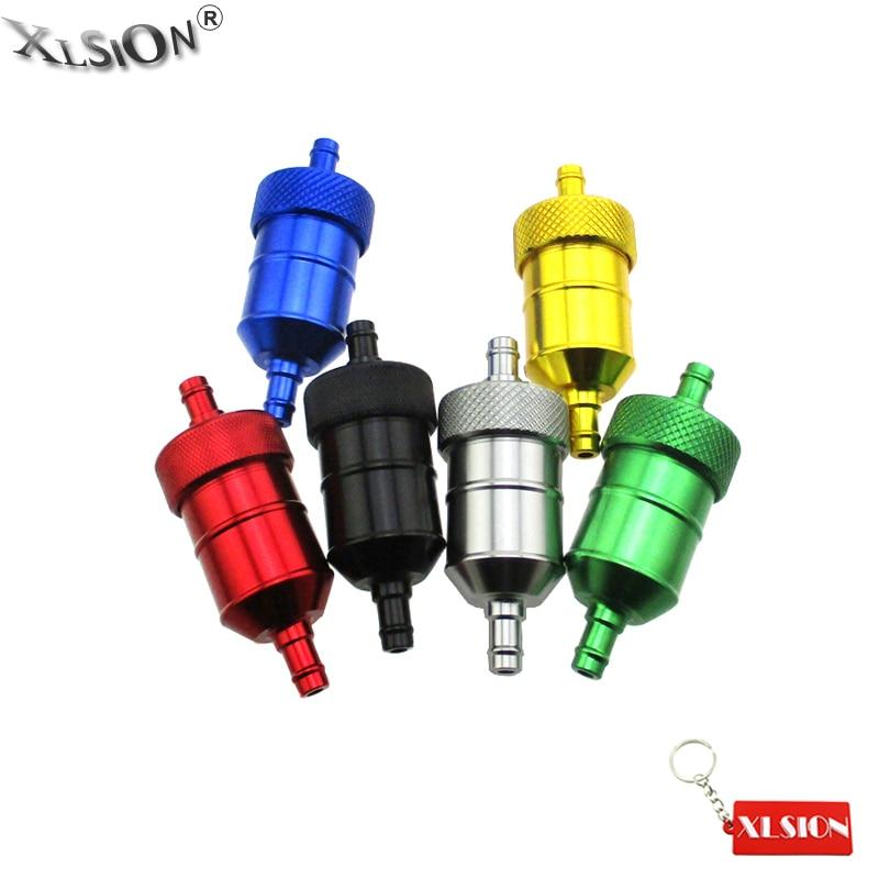 "10pcs Gas Oil Fuel Filter Fit 1//4/"" 5//16/'/' Hose for Tractors//Mowers//Go-Kart"