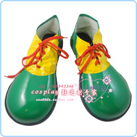 Clown PVC Shoes Carnival Party Cosplay Shoes 2 Colors S008