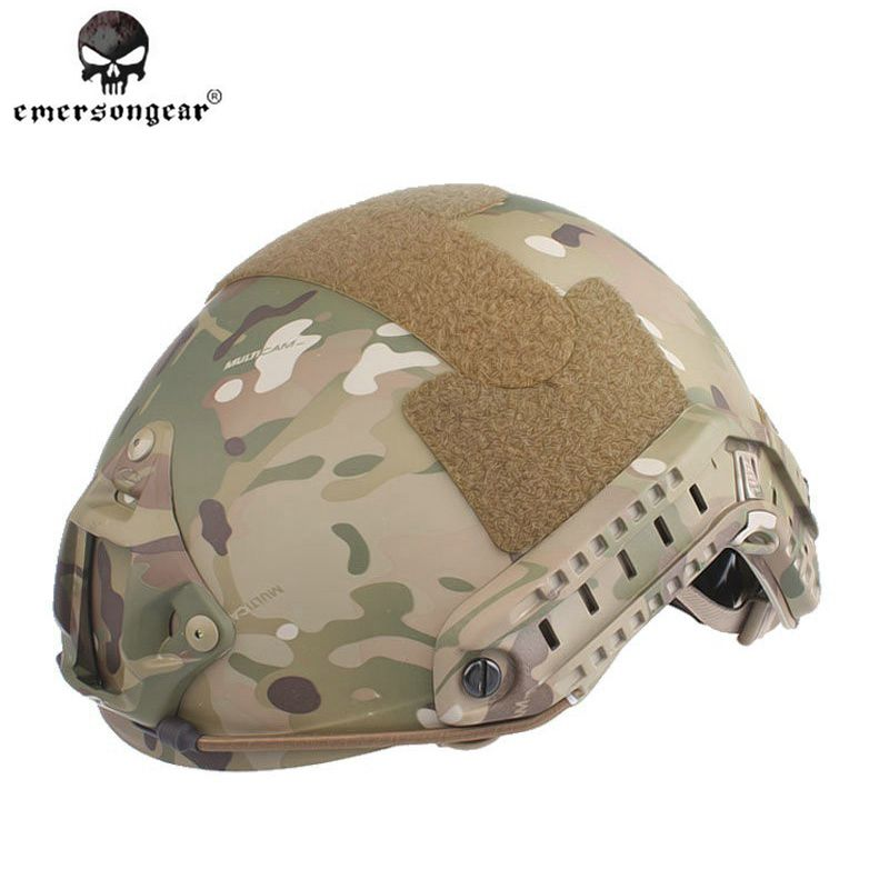 EMERSONgear FAST Helmet MH TYPE Tactical Protective Airsoft Sports Safety Men Military Tactical Combat Cycling Helmet Multicam sw5888 protective abs tactical cycling wild gaming helmet camouflage yellow black