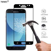 Protective Glass on the for Samsung Galaxy J3 J5 J7 2017 Europe Tempered Screen Protector Foil