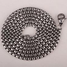 Lobo collar de acero inoxidable 316L colgante W cadena de la joyería del día de fiesta regalos para hombres mujeres al por mayor dropshipping HN01