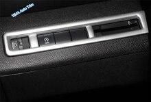 Lapetus стайлинга автомобилей фары кнопка переключения лампы Крышка отделка 1 шт. ABS, пригодный для peugeot 3008 3008GT 2017 2018 2019/2 выбор