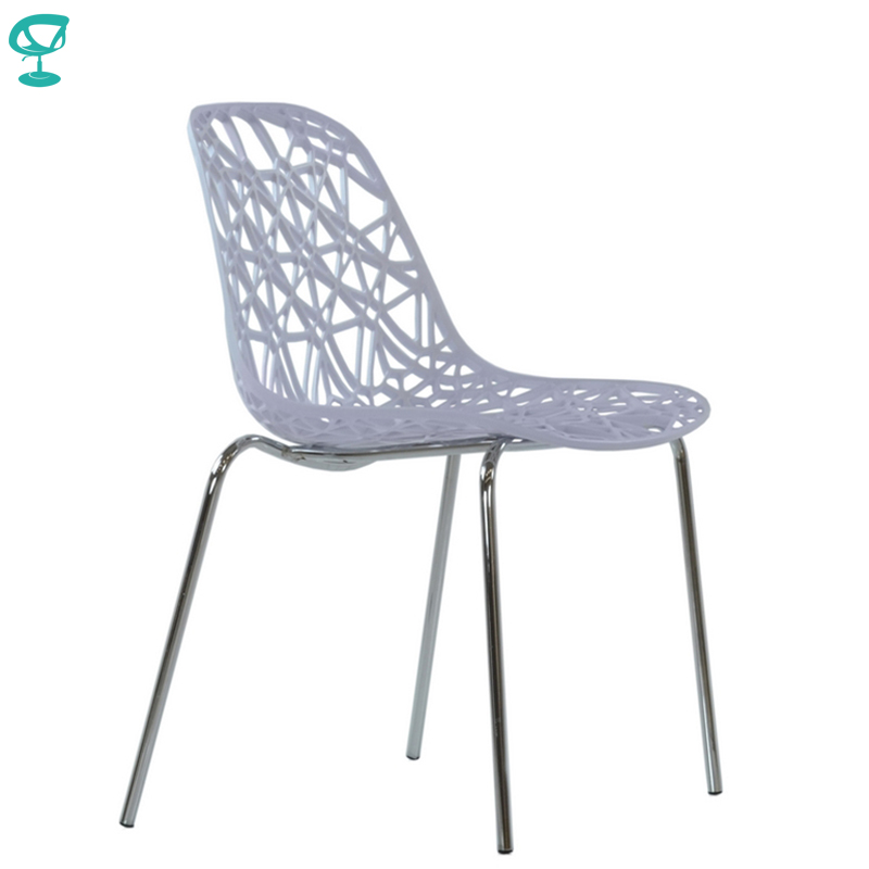 95289 Barneo N-225 Plastic Kitchen Interior Stool Chair For A Street Cafe Chair Kitchen Furniture White Free Shipping In Russia