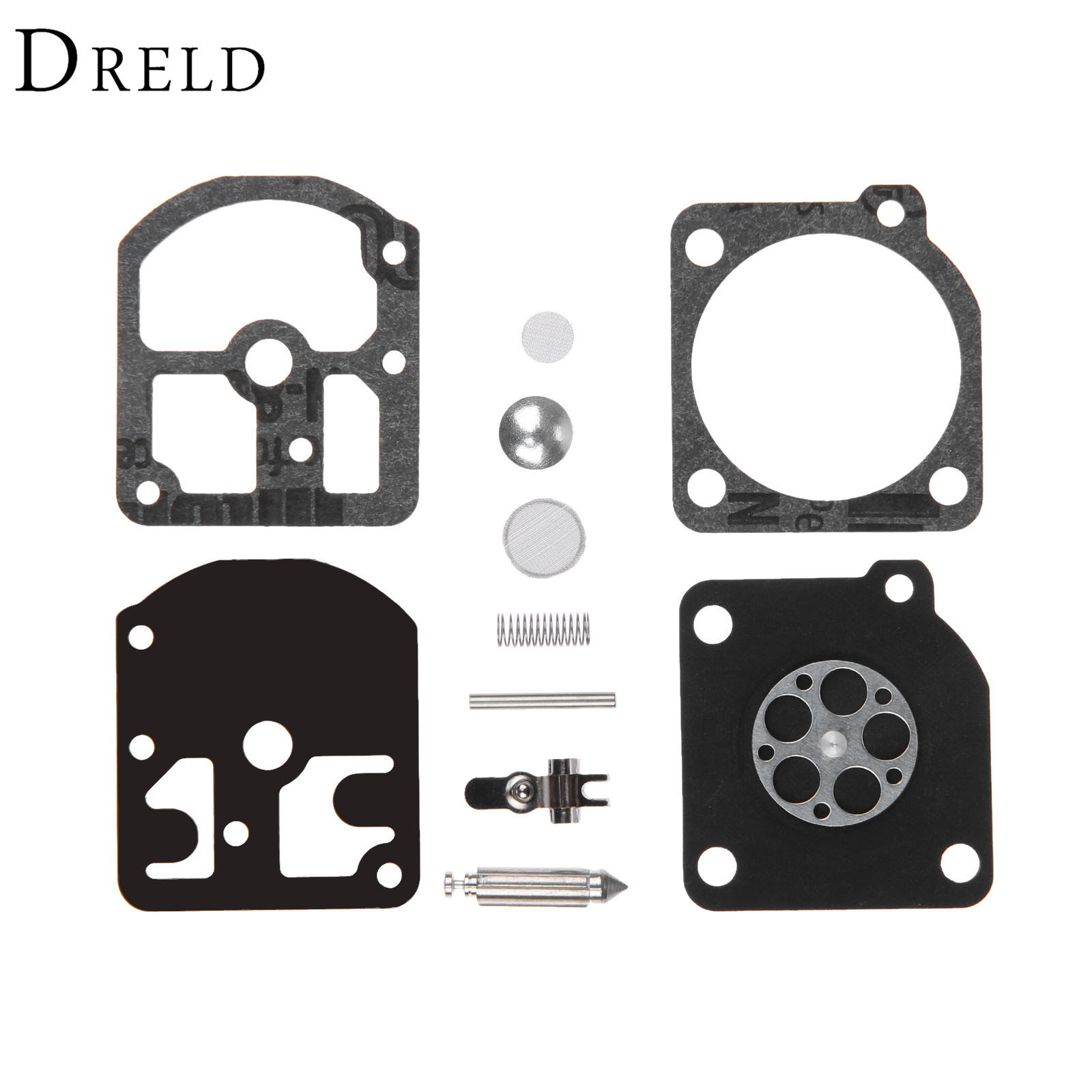 DRELD RB-11 Carburetor Carb Rebuild Tool Repair Gasket Kit For Stihl 009 010 011 012 011AV C1S-S1A C1S-S1B Chainsaw Parts AE0815