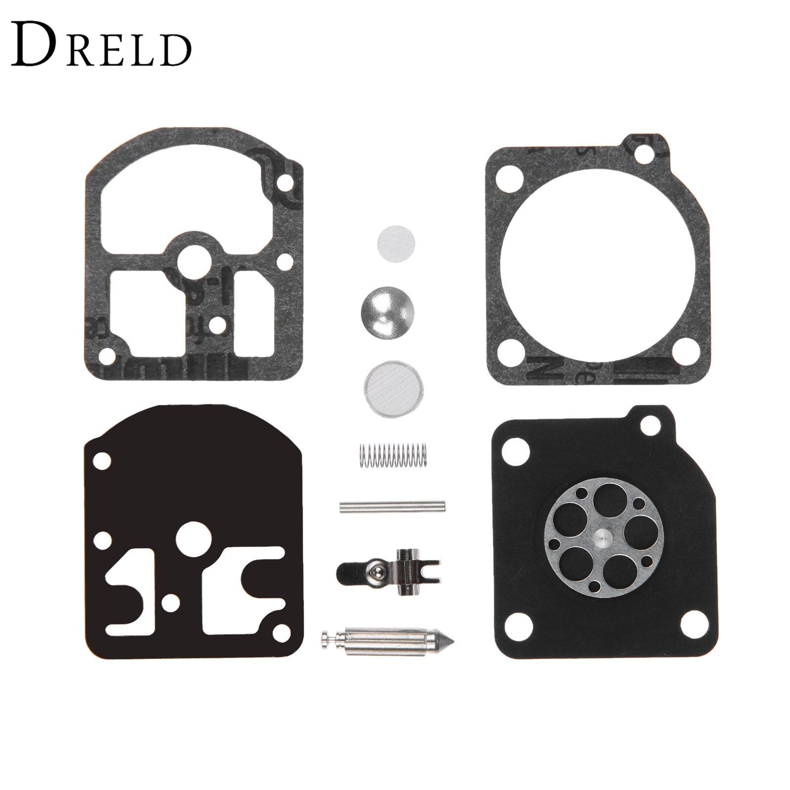 DRELD RB-11 Carburetor Carb Rebuild Tool Repair Gasket Kit For Stihl 009 010 011 012 011AV C1S-S1A C1S-S1B Chainsaw Parts AE0815