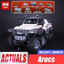 2017 New LEPIN 23011 2959 pcs Technic Series Off-road Vehicle Model Building Kits Block Educational Bricks Christmas Toys Gift