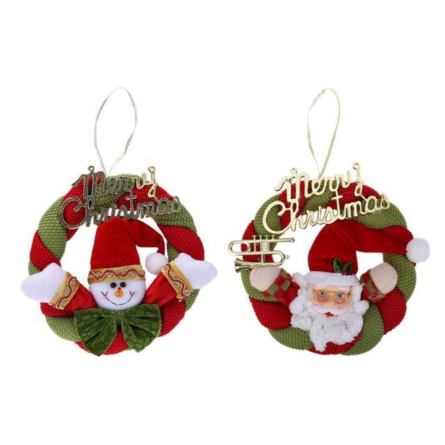 adornos de navidad guirnaldas de navidad pinecone arco nudos ventana puerta colgante de la guirnalda - Guirnaldas De Navidad