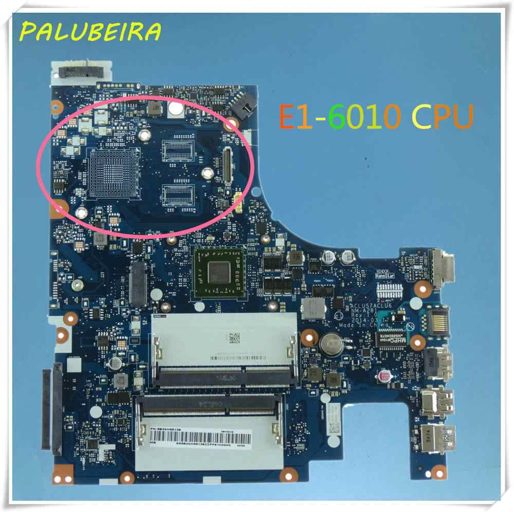 Palubeira Laptop Motherboard For Lenovo G50 45 Pc Mainboard E1 6010 Em6010 Mb Aclu5 Aclu6 Nm A281 15 Inch Full Tesed Ddr3 Aliexpress