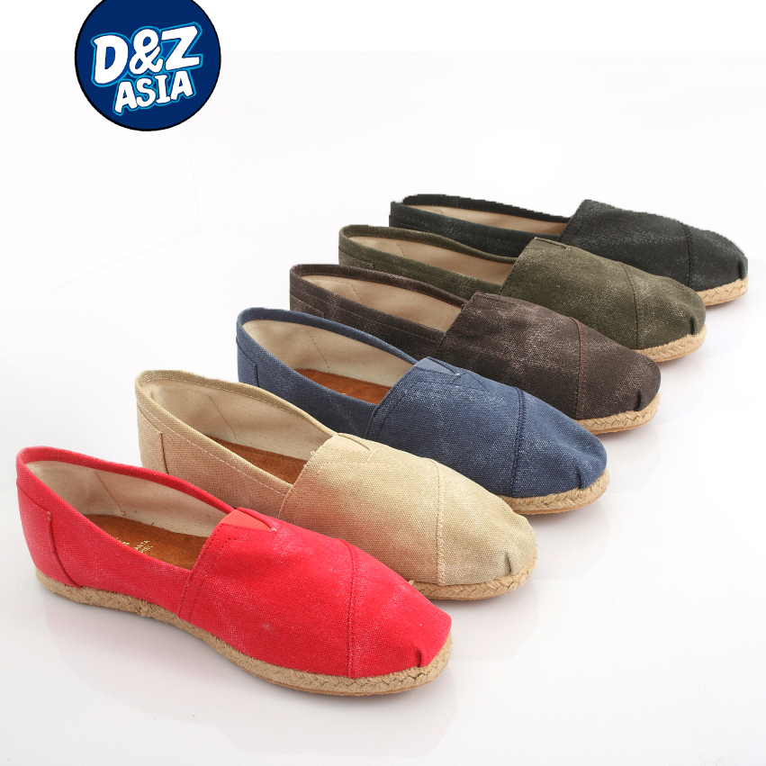 Millffy Italy Loafers ZAPATILLA LONA SIN CORDON sandal Shoes canvas shoes Casual shoes red home shoes red sin w edp spr