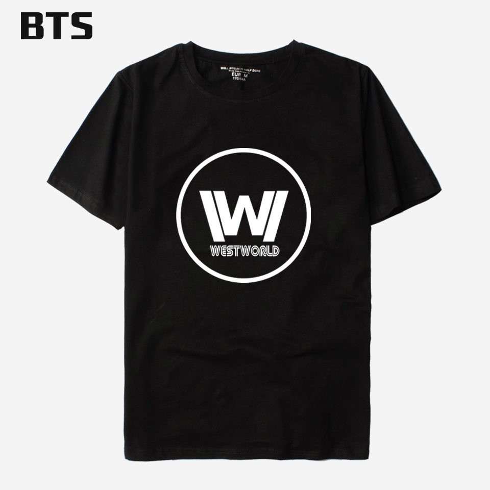A Westworld t shirt men comfortable homme t shirt men