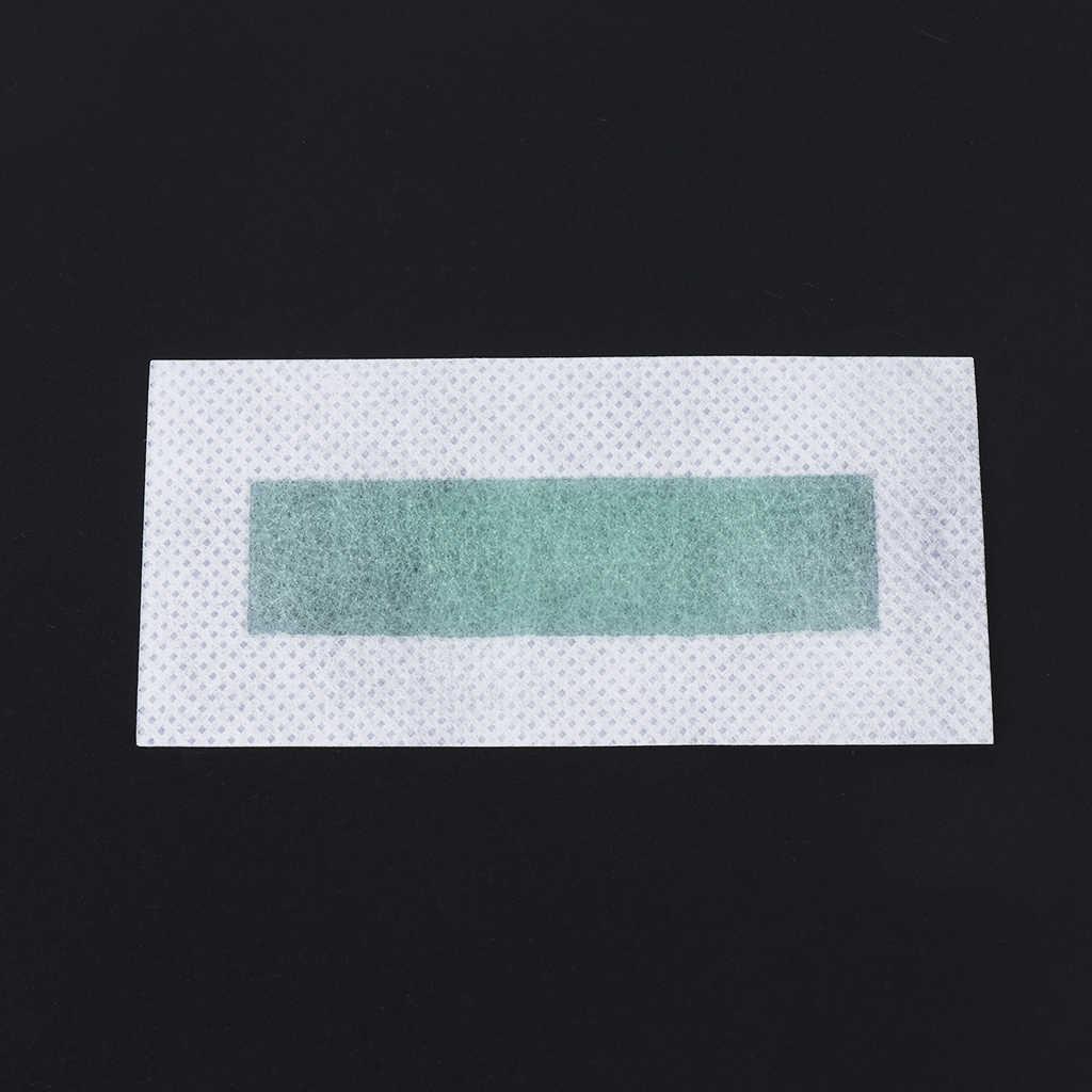 10x Epilasyon Tüy Dökücü Epilatör Soğuk Balmumu Şeritler Kağıt Pedi Yüz Nonwoven