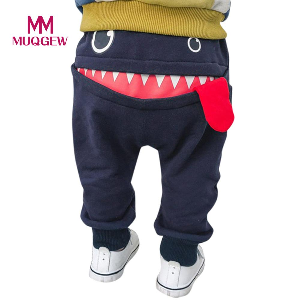 Reasonable Uk Baby Children Kids Boys Girls Cartoon Shark Tongue Harem Pants Trousers Pants Clothing, Shoes & Accessories