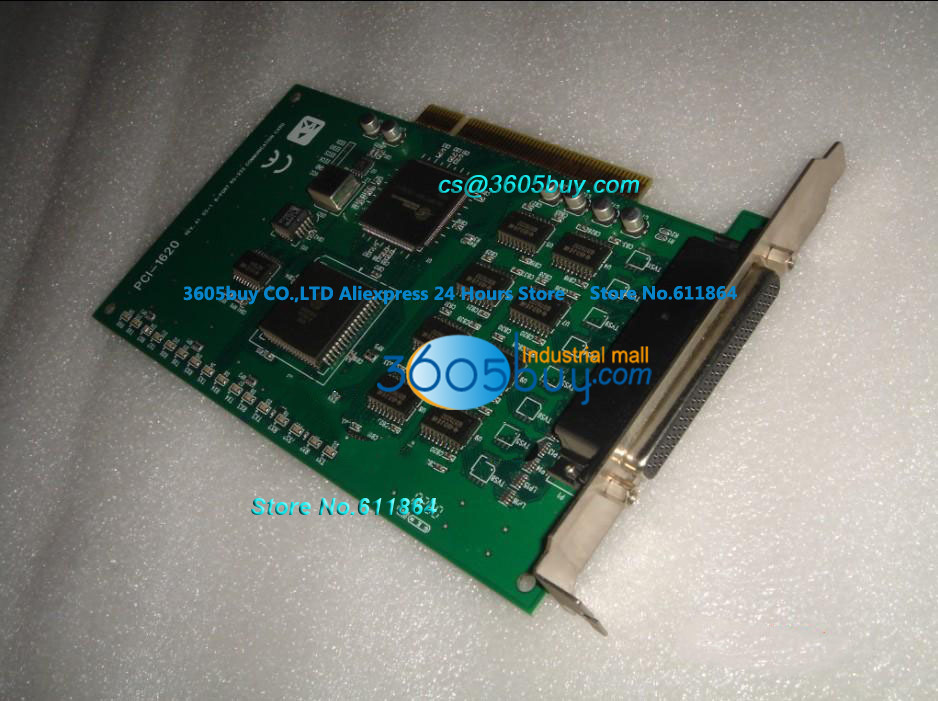 PCI-1620 Data Acquisition Board 100% tested perfect quality 8 Port RS-232