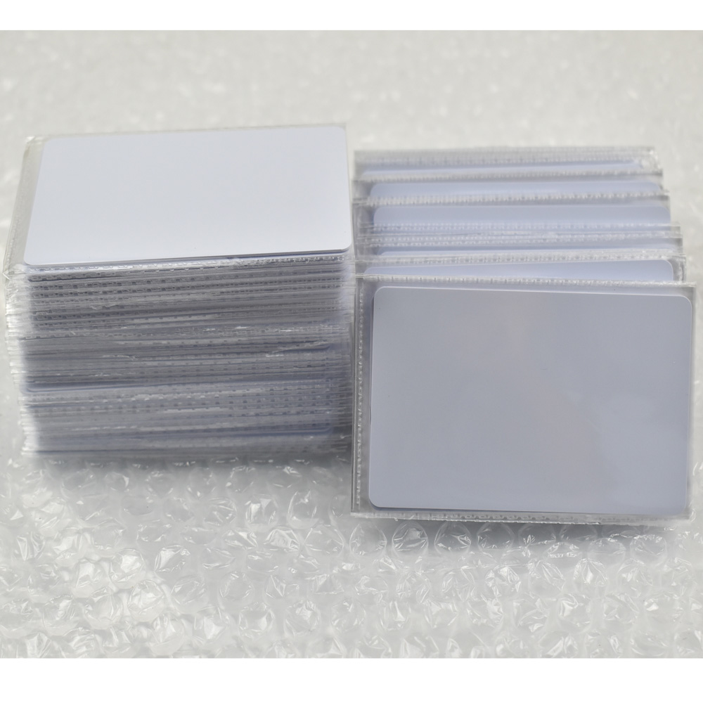 100pcs/lot EM4305 rfid tag blank card Thin pvc Card read and write writable readable RFID 125KHz Smart Card купить