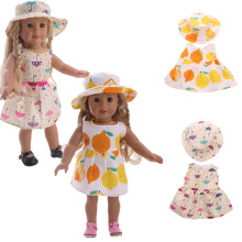 Fleta Holiday skirts and hatssuit Doll Clothes fit 18inch american  Accessories