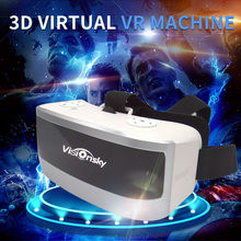 2017 New Visionsky 3D Glasses 1920*1080 All in one VR Android 5.1 Virtual Reality RK3288 Quad Core 5.5inch VR BOX 3D Game Movie