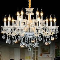 Luxury Modern Chandelier Lustre Crystal Chandeliers 6 8 10 15 18 Arms Optional Lustres De Cristal